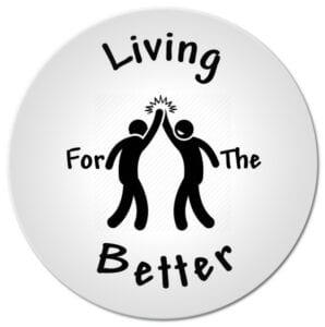 Living for the Better Logo