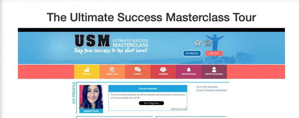 Ultimate Success Master Class