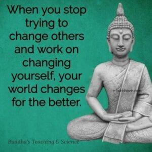 Buddha Change The World
